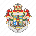 country, denmark, emblem, sightseeing, travel icon