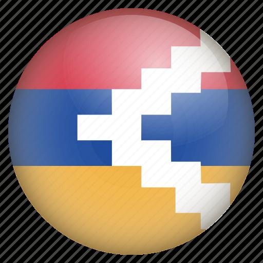 country, flag, location, nagorno karabakh, nation, navigation, pin icon