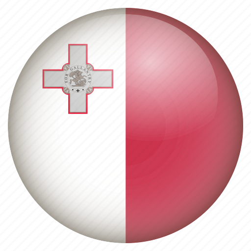 country, flag, location, malta, nation, navigation, pin icon