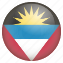 antigua and barbuda, country, location, nation, navigation, pin icon