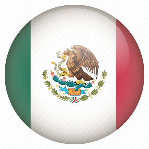 country, flag, location, mexico, nation, navigation, pin icon