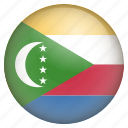 comoros, country, flag, location, nation, navigation, pin icon
