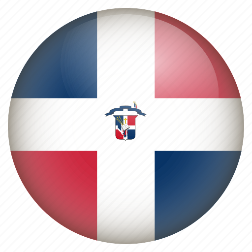 country, flag, location, nation, navigation, pin, the dominican republic icon