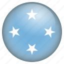 country, flag, location, nation, navigation, pin, the federated states of micronesia icon