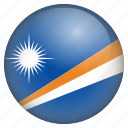 country, flag, location, marshall island, nation, navigation, pin icon