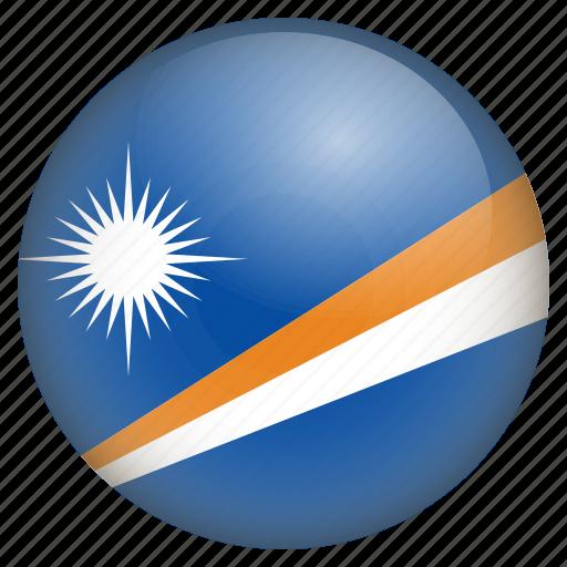 country, flag, location, marshall island, nation, navigation, pin icon