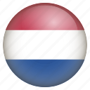 country, flag, location, nation, navigation, netherlands, pin icon