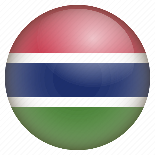 country, flag, gambia, location, nation, navigation, pin icon