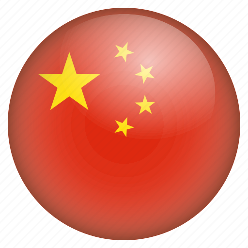 country, flag, location, nation, navigation, pin, the people's republic of china icon