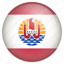 country, flag, location, nation, navigation, pin, polynesia icon