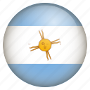 argentina, country, flag, location, nation, navigation, pin icon