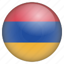 armenia, country, flag, location, nation, navigation, pin icon