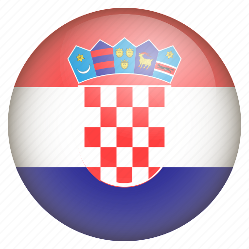 country, croatia, flag, location, nation, navigation, pin icon