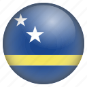 country, curacao, flag, location, nation, navigation, pin icon
