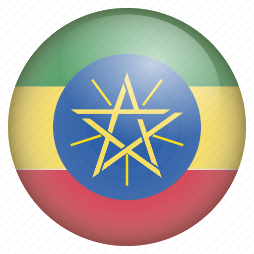 country, ethiopia, flag, location, nation, navigation, pin icon