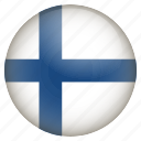 country, finland, flag, location, nation, navigation, pin icon