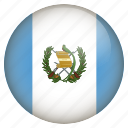 country, flag, guatemala, location, nation, navigation, pin icon