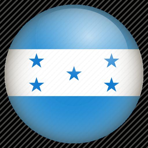 country, flag, honduras, location, nation, navigation, pin icon