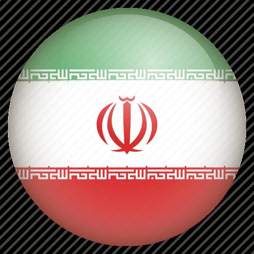 country, flag, iran, location, nation, navigation, pin icon