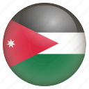 country, flag, jordan, location, nation, navigation, pin icon