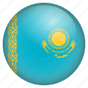 country, flag, kazakhstan, location, nation, navigation, pin icon
