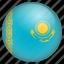 country, flag, kazakhstan, location, nation, navigation, pin icon