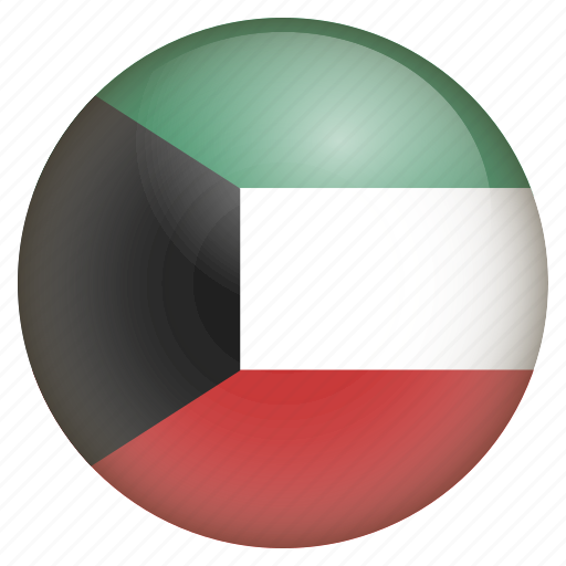 country, flag, kuwait, location, nation, navigation, pin icon