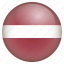 country, flag, latvia, location, nation, navigation, pin icon