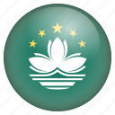 country, flag, location, macau, nation, navigation, pin icon
