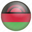 country, flag, location, malawi, nation, navigation, pin icon