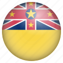 country, flag, location, nation, navigation, niue, pin icon