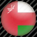 pin, country, nation, flag, location, oman, navigation