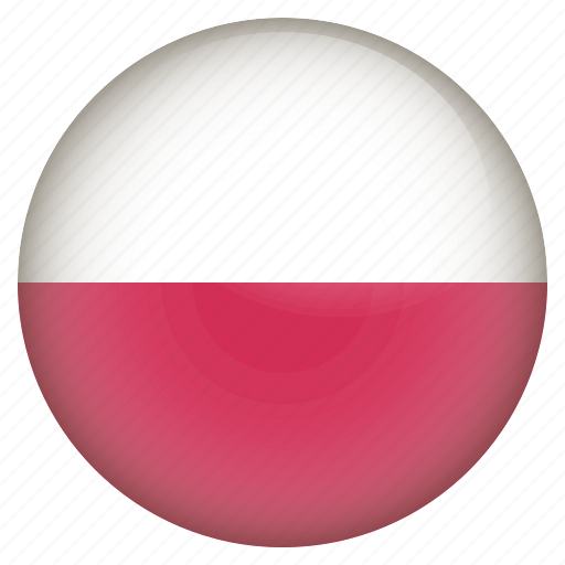 country, flag, location, nation, navigation, pin, poland icon