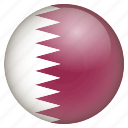 country, flag, location, nation, navigation, pin, qatar