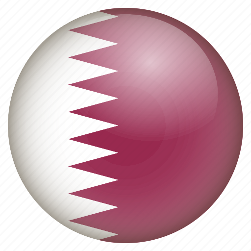 country, flag, location, nation, navigation, pin, qatar icon