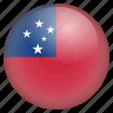 country, flag, location, nation, navigation, pin, samoa icon