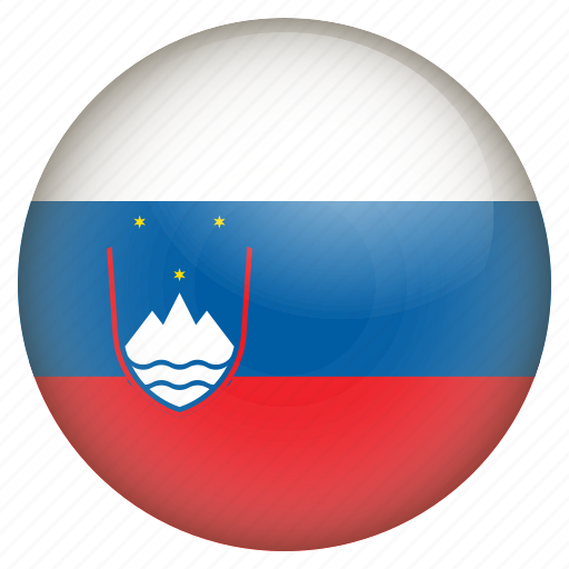 country, flag, location, nation, navigation, pin, slovenia icon