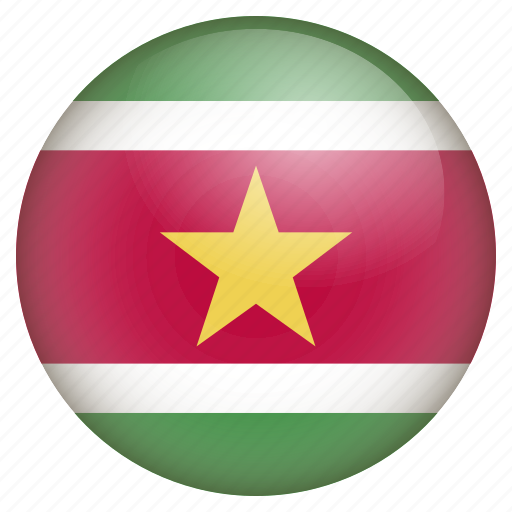 country, flag, location, nation, navigation, pin, suriname icon