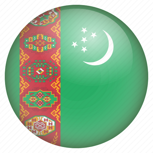 country, flag, location, nation, navigation, pin, turkmenistan icon