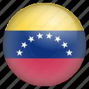 country, flag, location, nation, navigation, pin, venezuela icon
