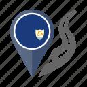 anguilla, country, flag, location, nation, navigation, pin icon
