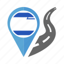 country, flag, israel, location, nation, navigation, pin icon
