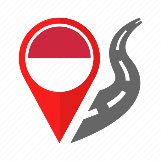 country, flag, location, monaco, nation, navigation, pin icon