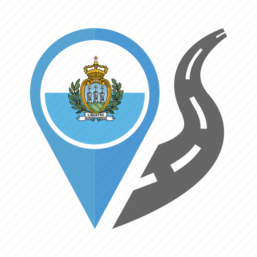country, flag, location, navigation, pin, sint maarten flag icon