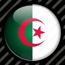 africa, algeria icon