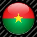 africa, burkina, faso icon