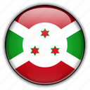 africa, burundi icon