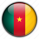 africa, cameroon icon