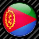 africa, eritrea icon