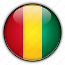 africa, guinea icon